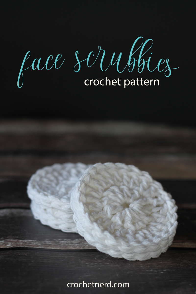 Crochet Pattern: Reusable Cotton Face Scrubbies