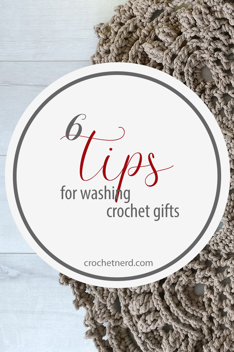 washing crochet