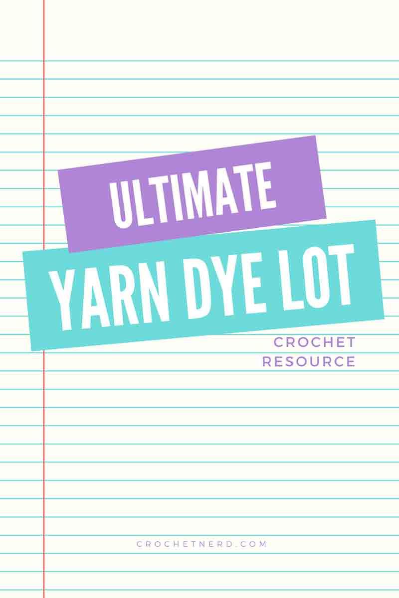 yarn dye lot