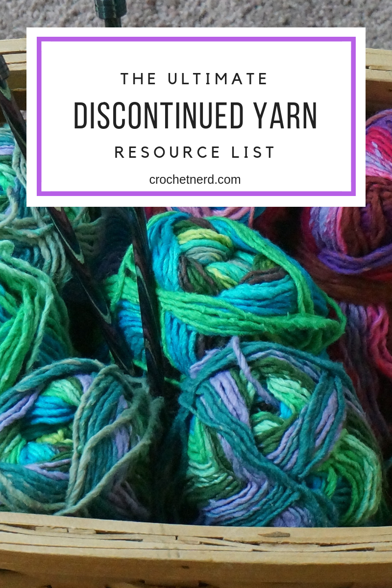 Where to Find Discontinued Yarn