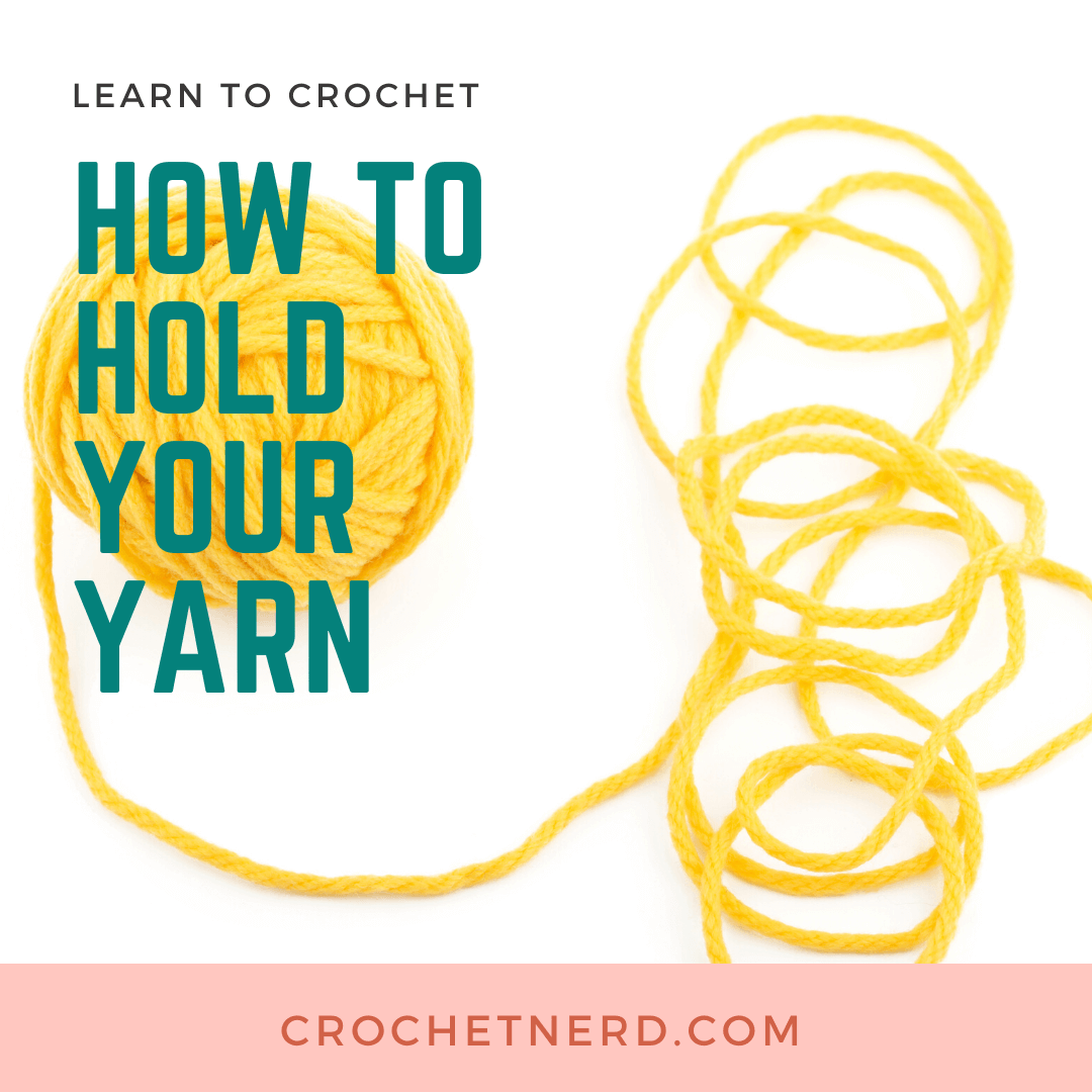 How to Hold Yarn