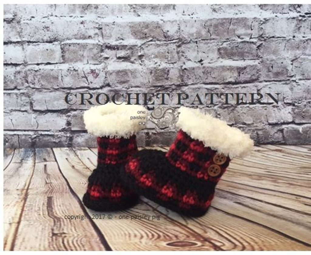 Crochet Winter Booties