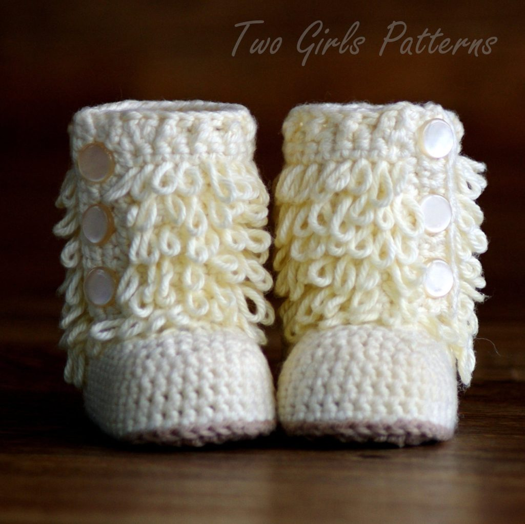 Baby Furry Boots