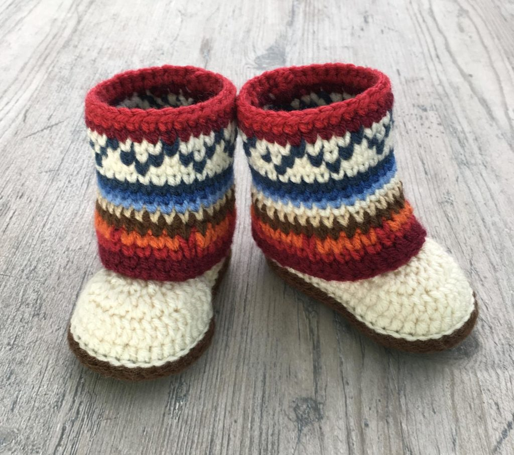 Baby Mukluk Inspired Boots