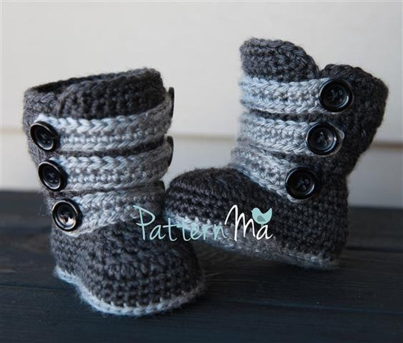 Crochet Strappy Boot