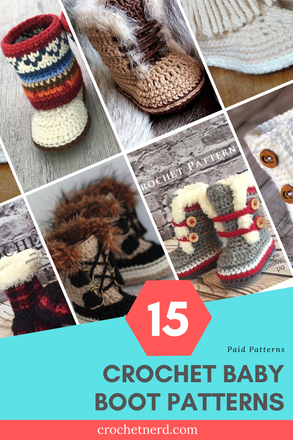 patterns for crochet baby boots