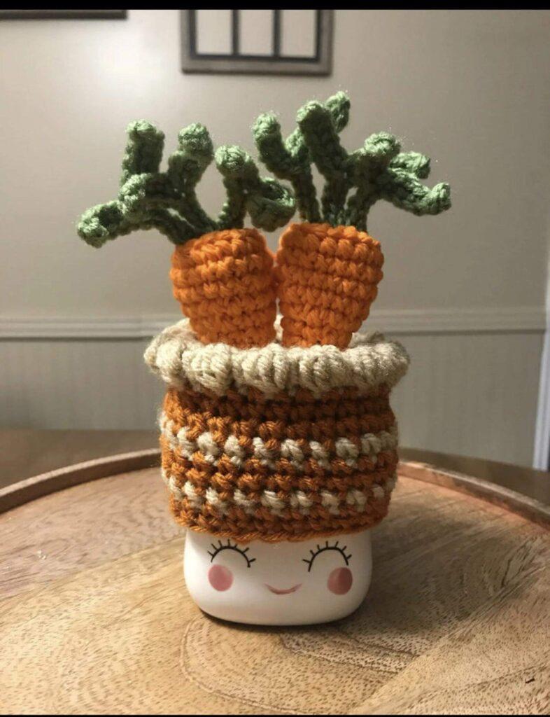 Carrot Cake Marshmallow Mug Hat