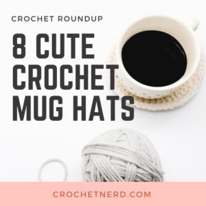 crochet mug hats