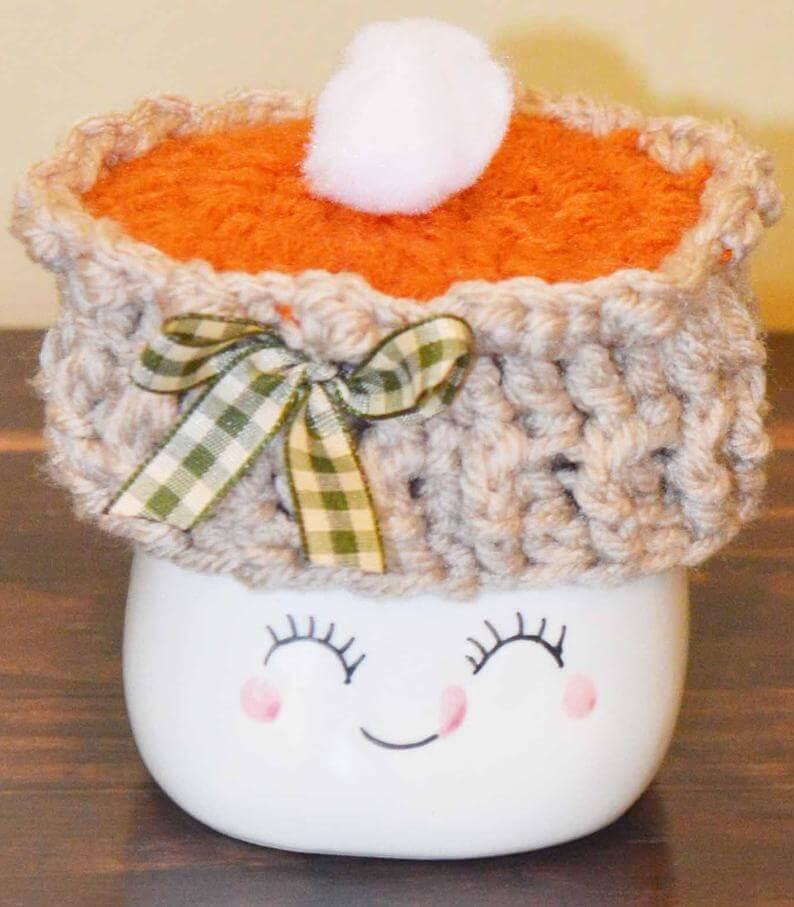 Pumpkin Pie Mug Topper
