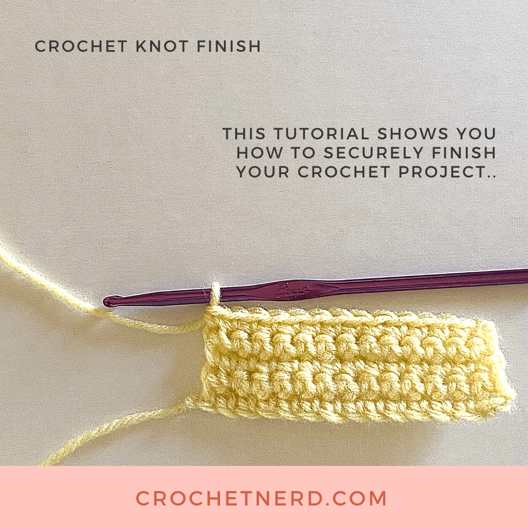 Finishing crochet project introduction