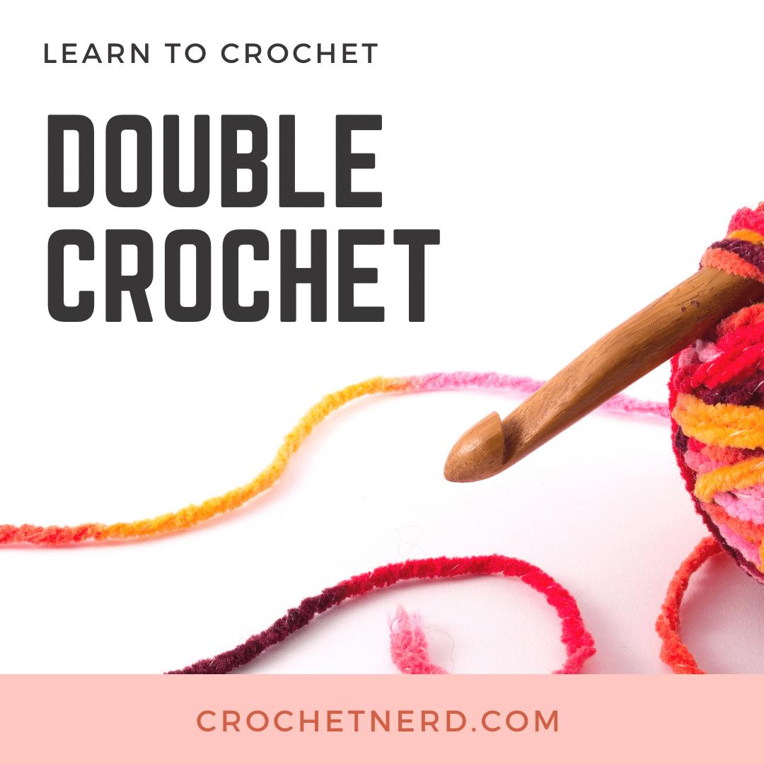 Double crochet stitch tutorial